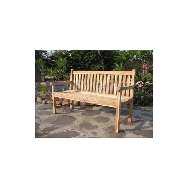 Tuinbank teakhout 3 zits houten bank tuinmeubilair