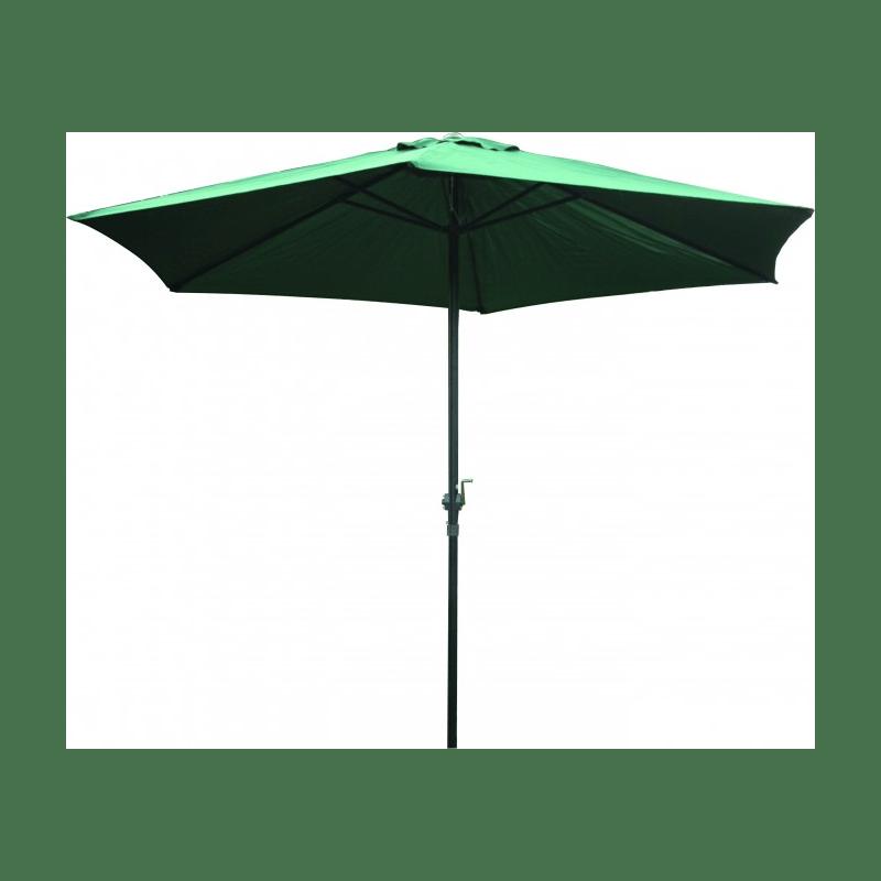 Parasol Ø 300 cm met molen handzaam licht van gewicht