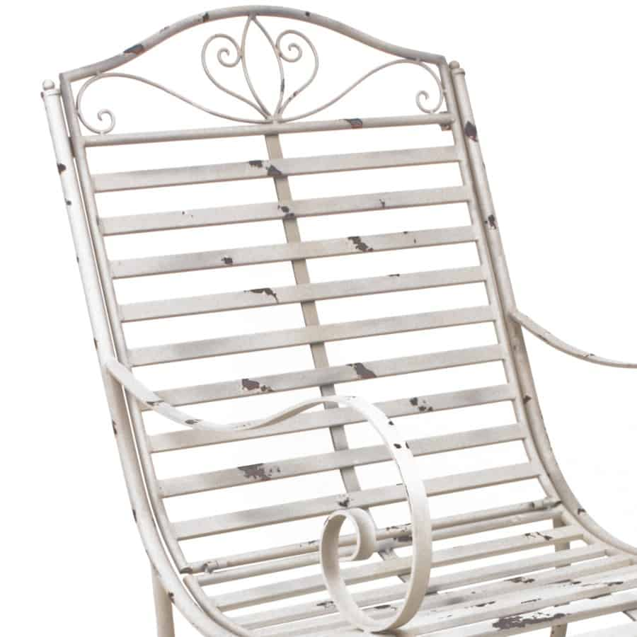 Rugleuning schommelstoel