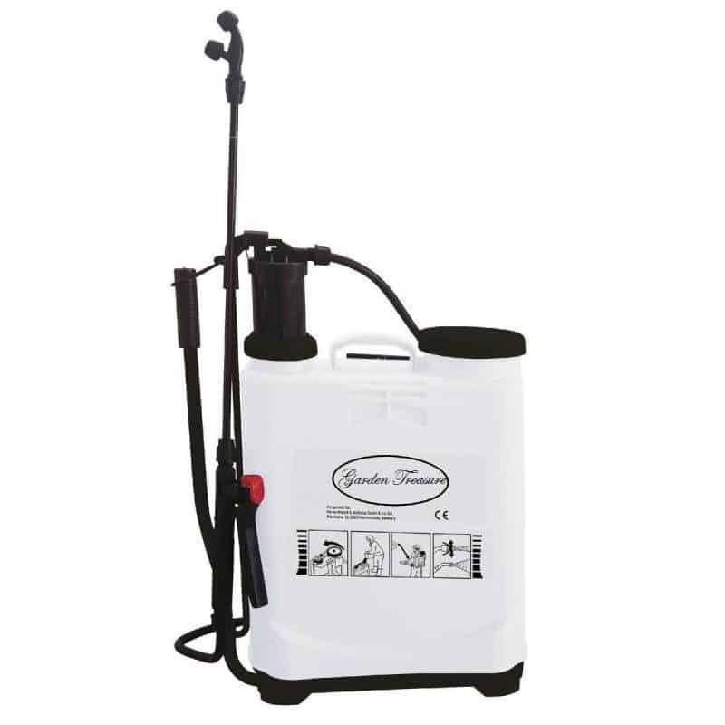 Druksproeier drukspuit rugsproeier 16 liter tuingereedschap tuin terras