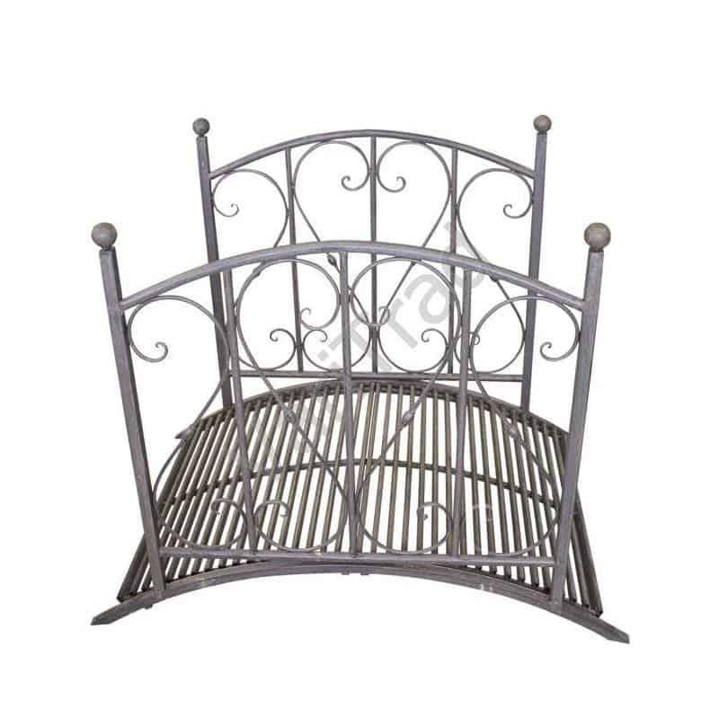 Boogbrug decoratie brug voor tuin terras van metaal
