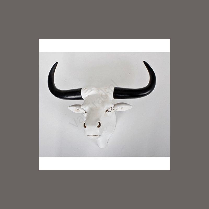 gewei buffel polyresin 53,5 cm