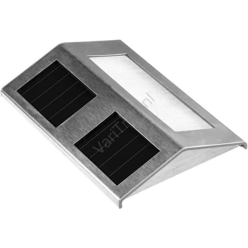 Solar trapverlichting RVS
