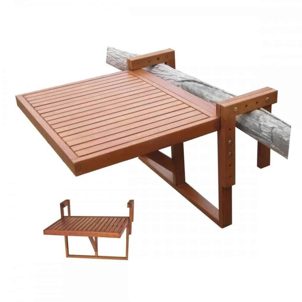 Balkontafel hangtafel