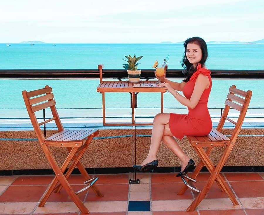 hantafel balkontafel houten