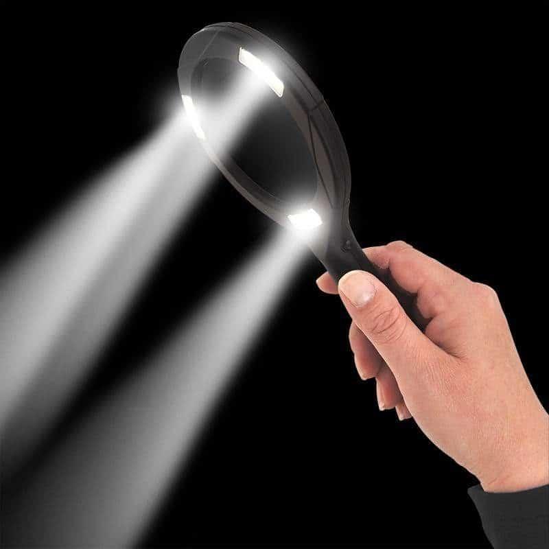 Vergrootglas loep met COB led verlichting