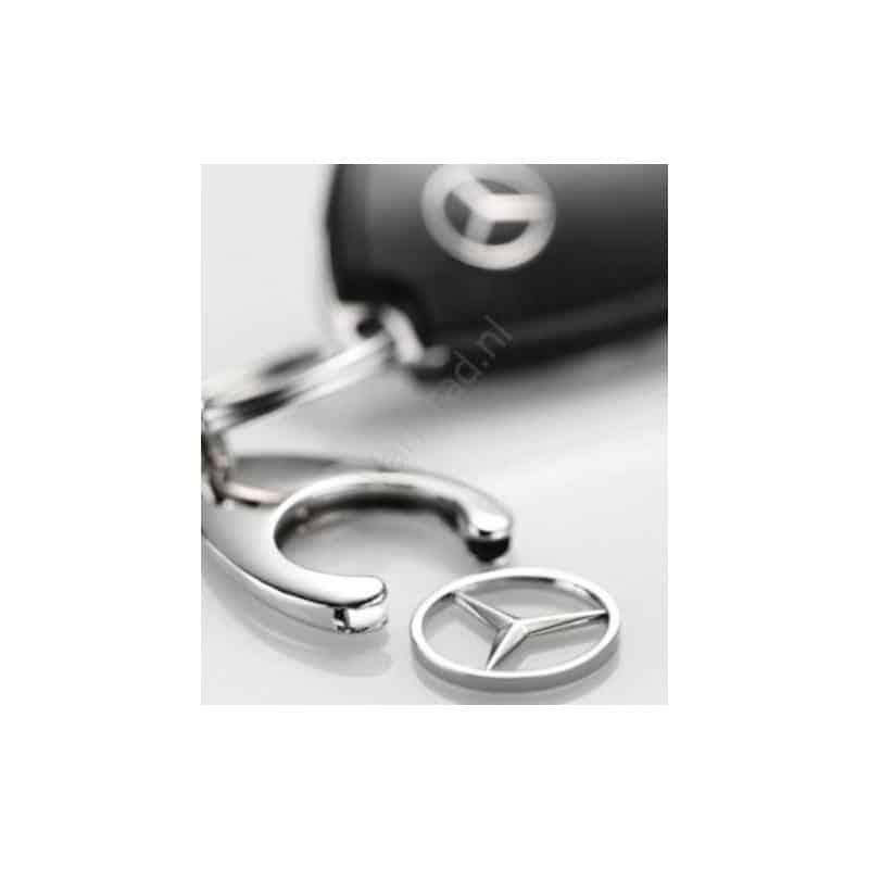 Originele Mercedes sleutelhanger klick in - klick uit