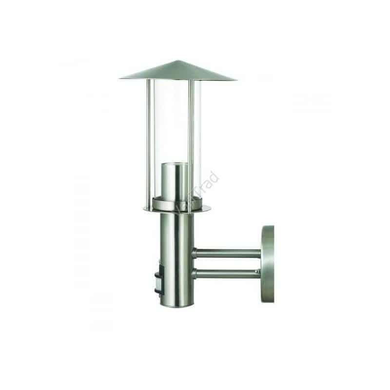 Tuinverlichting tuinlamp wandlamp voordeurlamp RVS met sensor