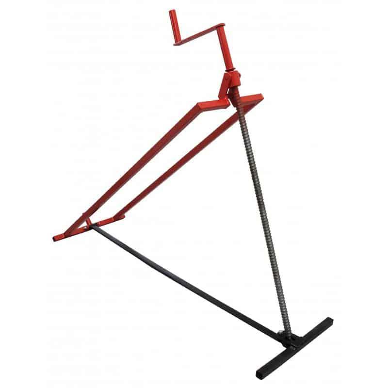 Heftoestel / zitmaaier lift, zijwaarts, voor eenvoudige en zekere reiniging en onderhoud van uw zitmaaier