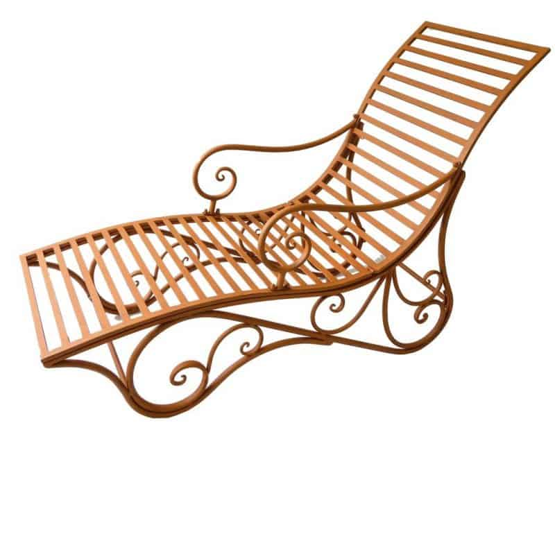 metalen ligstoel deckchair